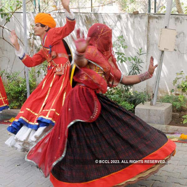 Ravi Saxena's Holi party in Ahmedabad