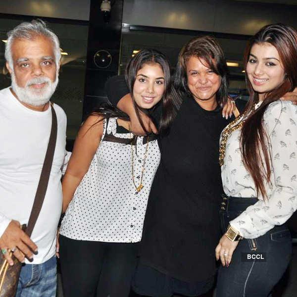 Ayesha with family