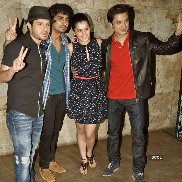 Celebs watch 'Chashme Buddoor'
