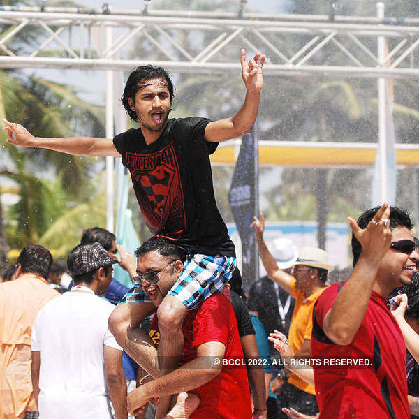 Rain dance at Goa Fest 2013