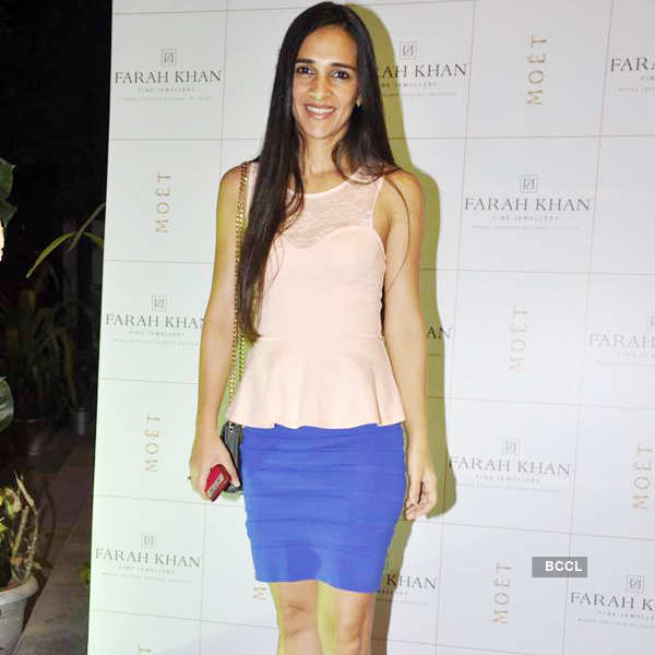 Farah Khan's store launch