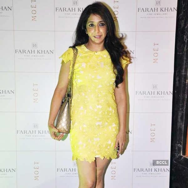 Farah Khan's store launch