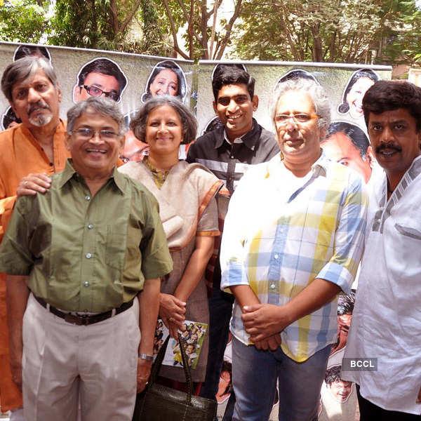 Amol Palekar @ movie promotion