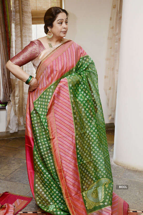 Kirron Kher unveils History of Weaves