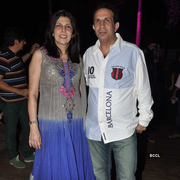 Poonam Dhillon's b'day party