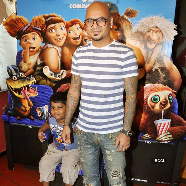 The Croods: Premiere