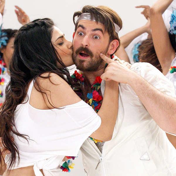 Neil, Puja shoot for Shortcut Romeo
