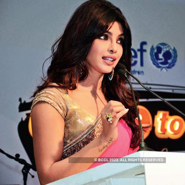 Priyanka cheers for girl power