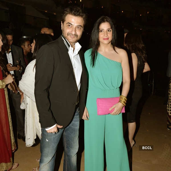 Sridevi's Padma Shri party