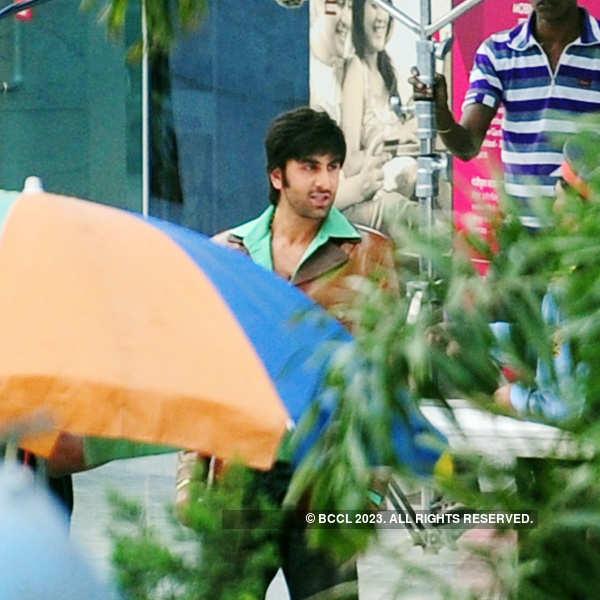 Ranbir shoots in Delhi
