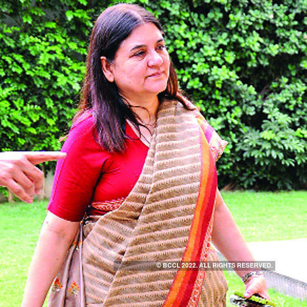Morning with Maneka Gandhi