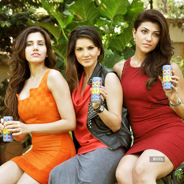 Energy drink's promo shoot