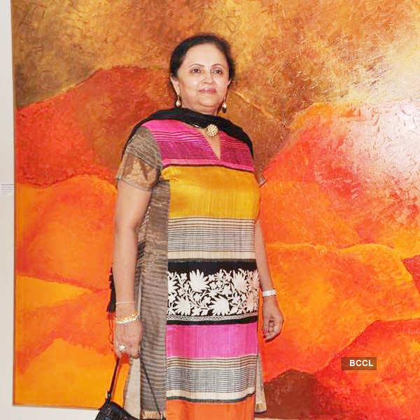 Nita Ambani at art show
