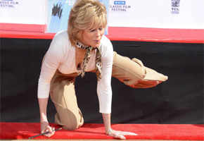 Fonda honoured at TCM Classic Film Festival