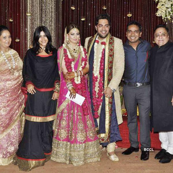 Amul Mohan's wedding reception