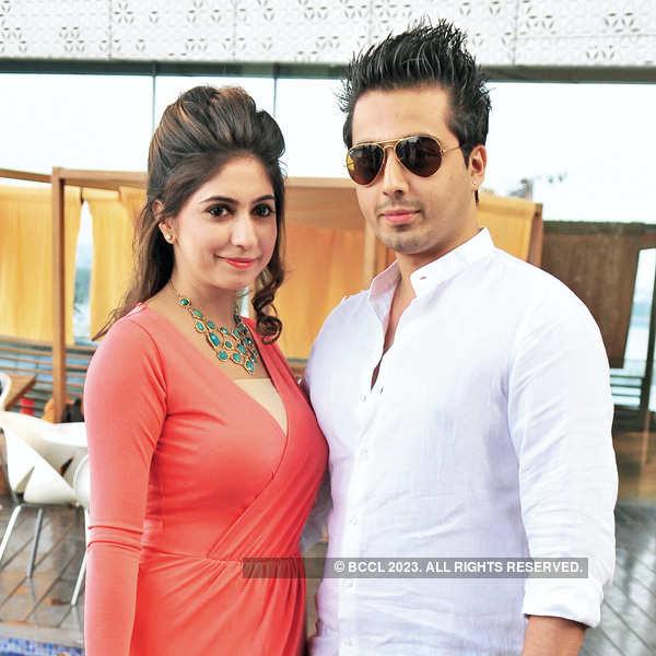 Aparna & Sanjay's post wedding party