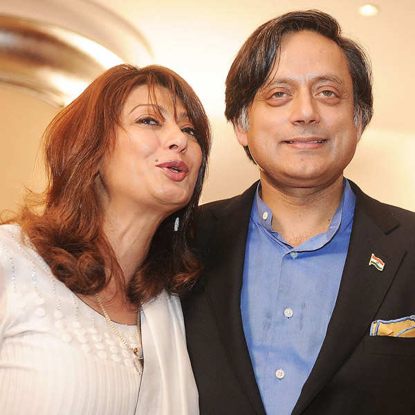 Splitsville for Shashi Tharoor, Sunanda?