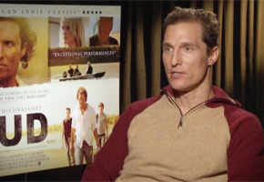 Matthew McConaughey's mythical journey in 'Mud'