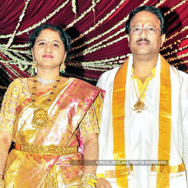Sujith & Spoorthy's reception party