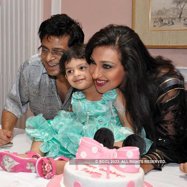 Rituparna's daughter Rishona's birthday