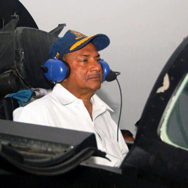 AK Antony at Naval Base