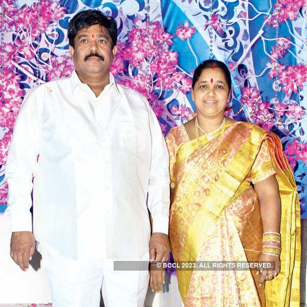 Naveen & Varsha's wedding reception