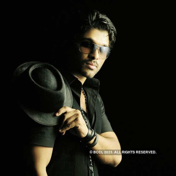 Allu Arjun's portfolio pics