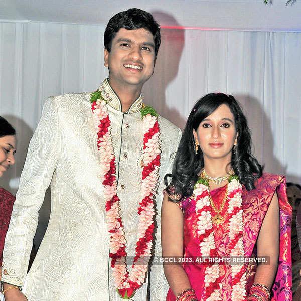 Dheeraj & Sudha's wedding ceremony