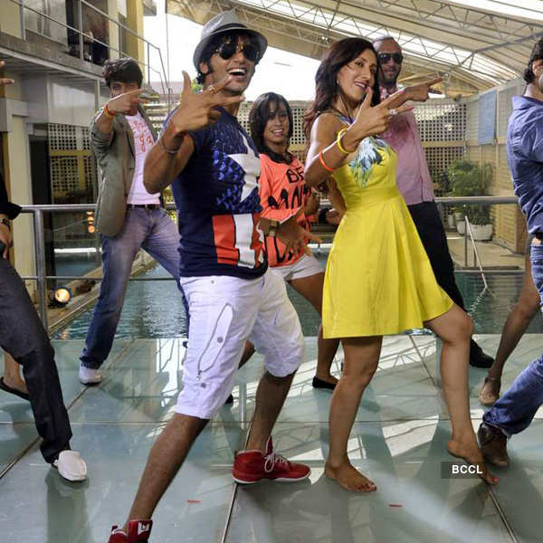 Love You Soniye: On the sets