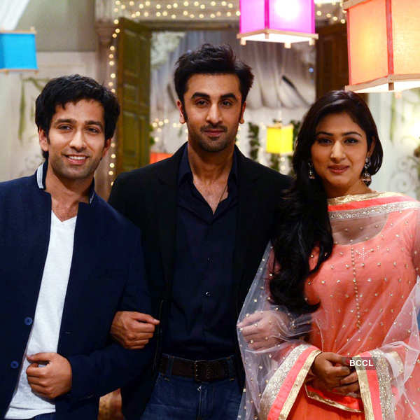 Pyaar Ka Dard: On the sets
