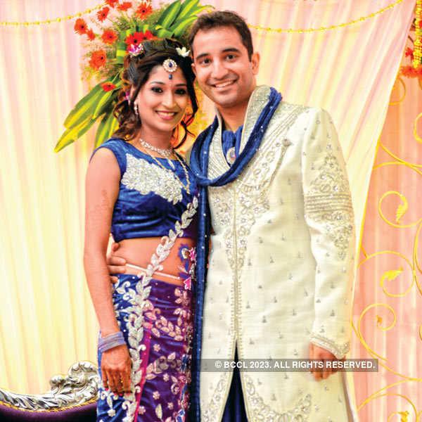 Deepika & Krishnan's wedding bash