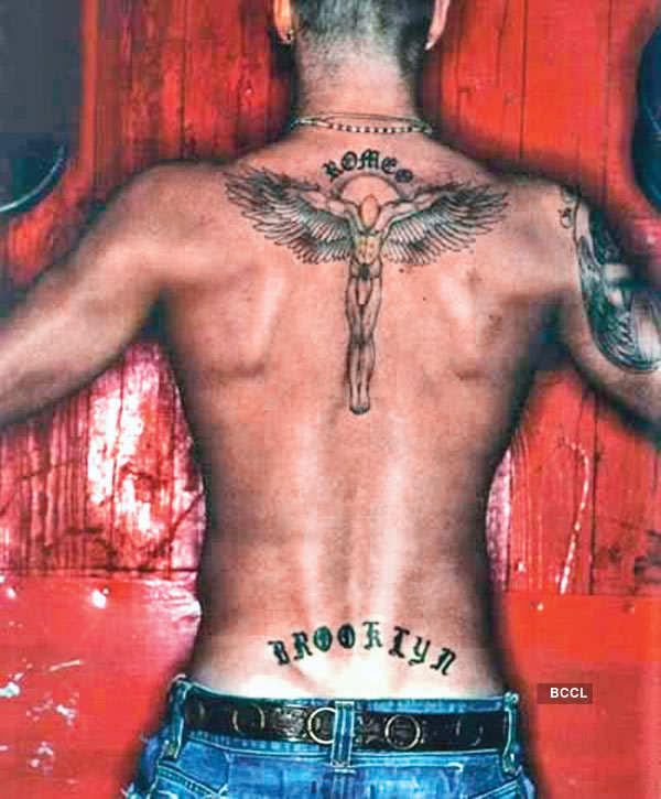 Becks' tattoos: A strange obsession