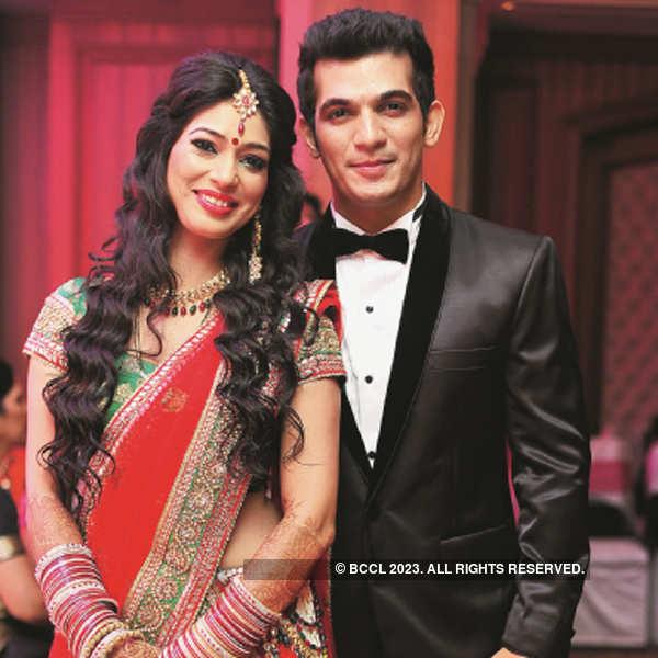 Arjun Bijlani's wedding party