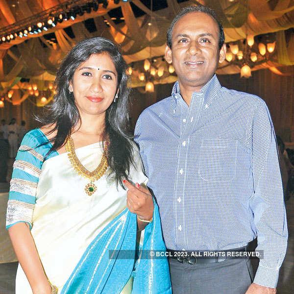 Neha & Rohit's wedding reception