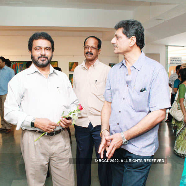 Ashwini Phaldesai's art exhibition