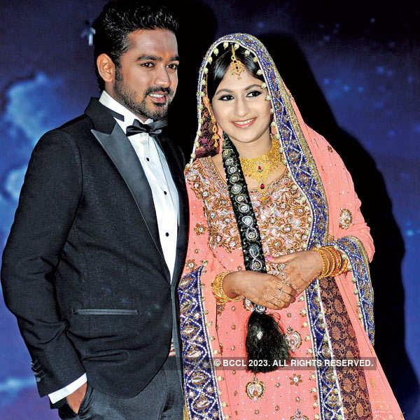 Asif Ali, Zama Masreen's wedding reception