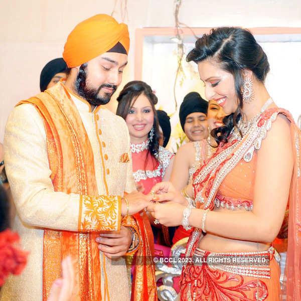 Jagpreet & Guneet's engagement ceremony