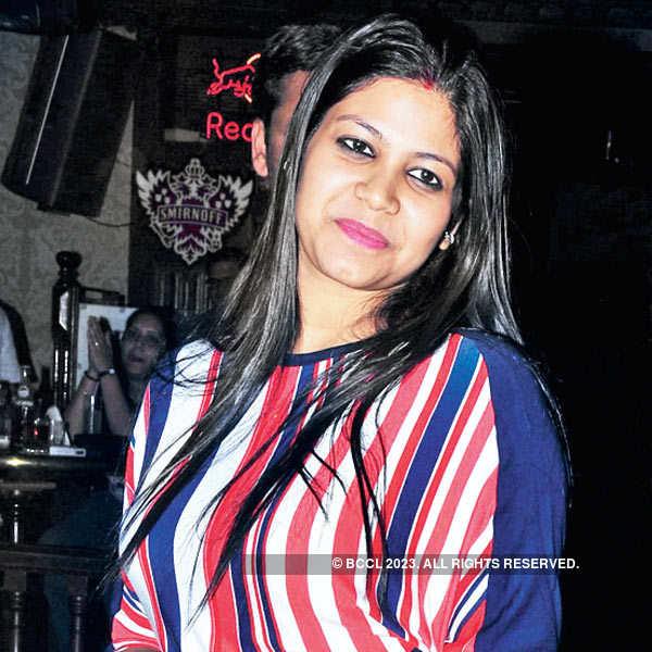 Kamna Jethmalani @ a DJ night party