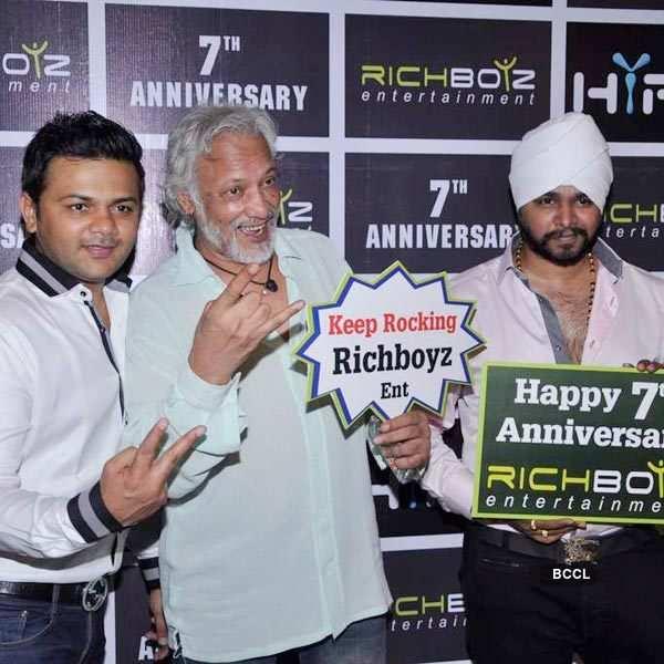 TV stars at Richboyz's 7th anniversary