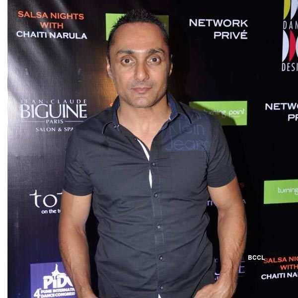 Rahul Bose at Salsa night
