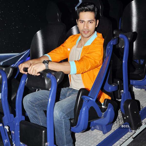 Varun launches amusement ride