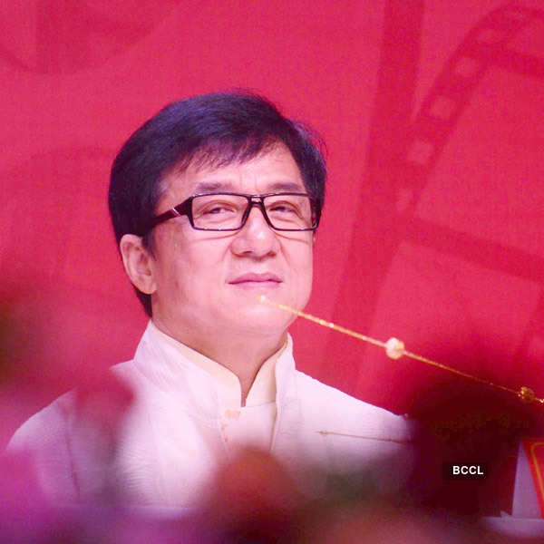 Jackie Chan at Chinese Film Festival