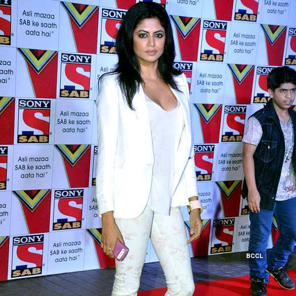 Celebs at channel's new look launch