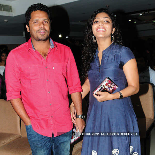 Mollywood celebs at a music launch