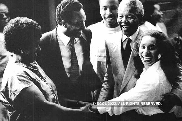 Rare and unseen pictures of Nelson Mandela
