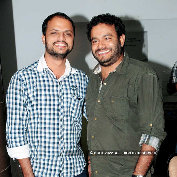 Get-together at a movie launch