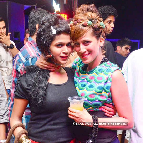 Pool party at club Sinq in Sinquerim