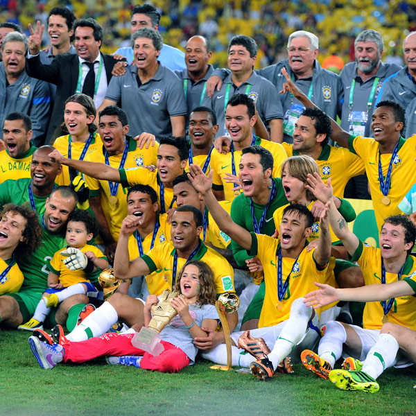 Brazil humiliate Spain 3-0 in Confederations Cup final