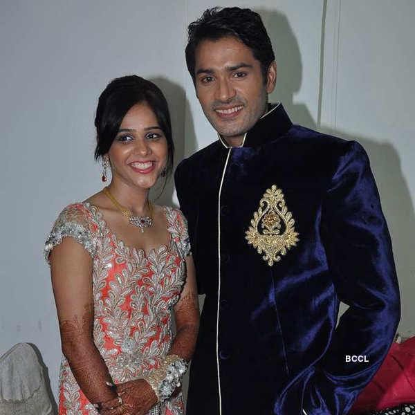 Mrunal Jain's engagement ceremony