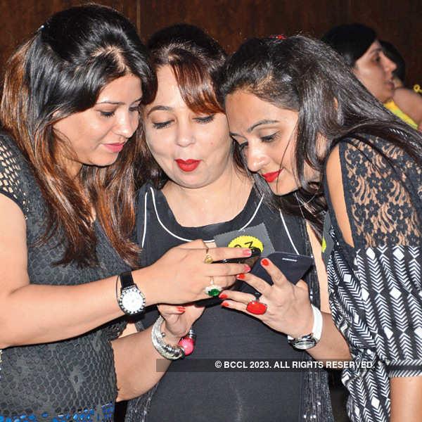 Socialites enjoy a Lucknow party